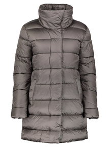 Silver Grey Padded Coat