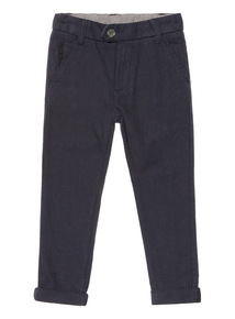 Navy Smart Occasion Trousers (3-14 years)