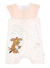 Girls Pink Gruffalo Romper (0 - 24 months)