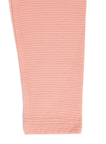 2 Pack Pink and Navy Ribbed Leggings (9 months-6 years)