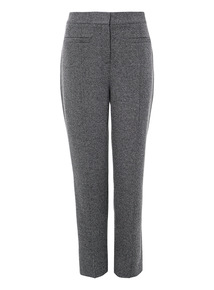 Mono Textured Tapered Trousers