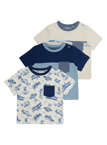 Planes Tees 3 Pack (0 - 24 months)
