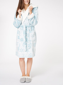 Frosted Snowflake Robe
