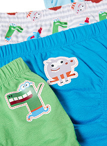 5 Pack Multicoloured Hey Duggee Briefs (18 months-6 years)