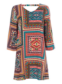 Voodoo Patchwork Dress