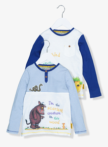 The Gruffalo Jersey Tops 2 Pack (9 months - 6 years)