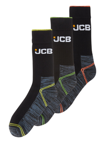 Grey High Vis Pro Work Socks 3 Pack