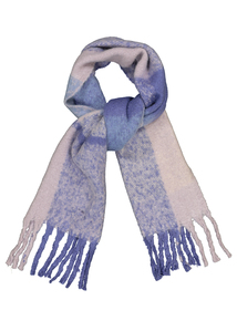 Lilac & Purple Check Scarf