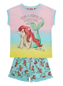 Multicoloured Disney Ariel PJ Set (1.5 - 10 years)