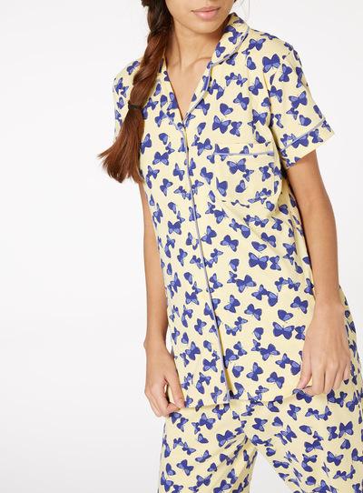 Butterfly Print Traditional Pyjamas