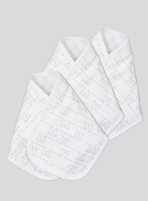 Pack of 3 Unisex Burpee Cloths (one size)