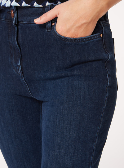 Dark Denim Performance Skinny Jeans