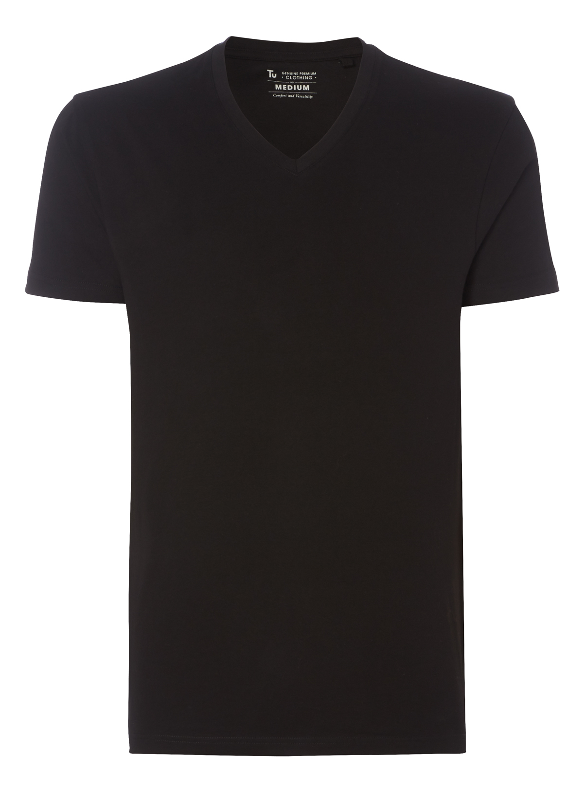 Black t shirts v neck - Black V Neck T Shirt