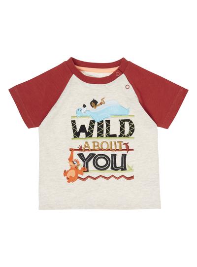 Baby Boys Multicoloured Jungle Book Disney T Shirt 0 24 Months