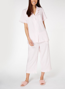 Gingham Traditional Pyjamas