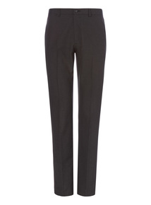 Charcoal Stripe Smart Trousers