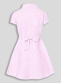 Online Exclusive Pink Classic Gingham Dress (3-12 years)