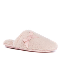 Luxe Fluffy Mule Slippers