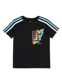 Boys Multicoloured Mesh Tee (4 - 14 years)