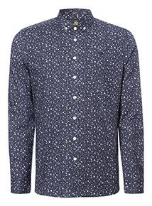 Admiral Navy Floral Shirt