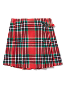 Red Check Skirt (3-14 years)