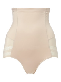 Nude Waist-Sculpting High Waist Briefs