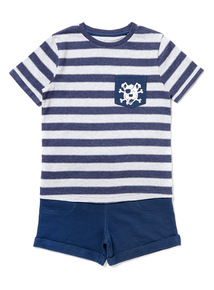 Multicoloured T-Shirt and Shorts Set (9 months-6years)