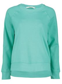 Online Exclusive Green Boxy Sweatshirt