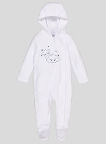 White Cloud All In One (Newborn -12 Months)