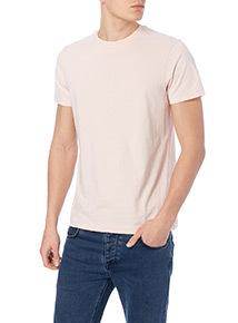 Pink Basic Crew T-shirt
