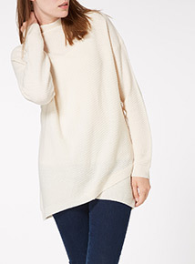 Cross Front Wrap Jumper