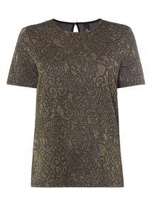 Gok Foil Jersey T-shirt