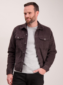 Grey Cord Western Jacket