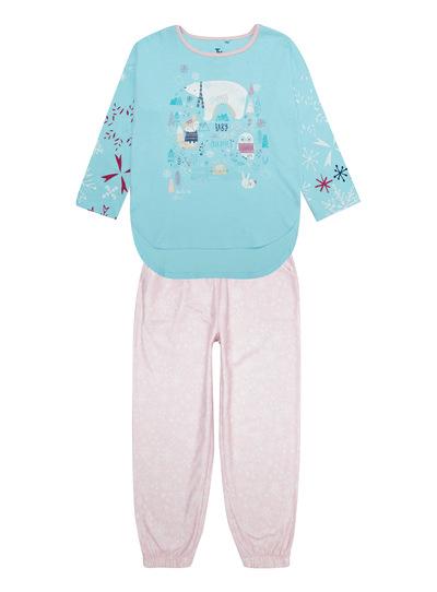 Pink Arctic Lodge PJ With Bag (1.5-12 years)