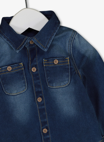 Blue Denim Shirt (0- 24 months)