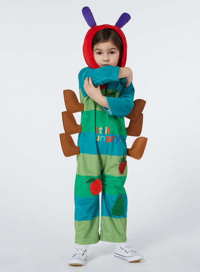 STYLE SS17 HUNGRY CATERPILLAR - Multi Coloured  sc 1 st  Tu clothing & Fancy Dress Kids Green Hungry Caterpillar Costume (1-8 Years) | Tu ...
