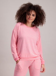 Pink & White Stripe Pyjamas