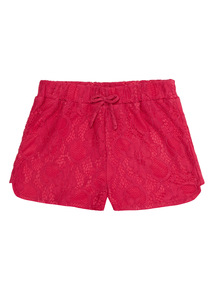 Pink Lace Shorts (3 - 12 years)