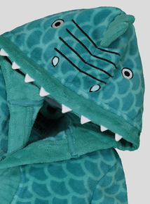 Green Dinosaur Dressing Gown (1-10 years)