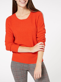 Mini Cable Knit Jumper