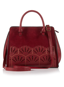 Berry Red Orient Lazer Cut Bag