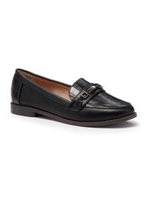 Sole Comfort Black Loafer