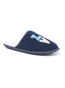Love Slogan Mule Slipper