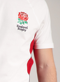England Rugby Union White Crew Neck T-Shirt