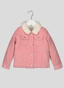 Pink Corduroy Jacket (9 months - 6 years)