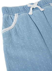 Blue Denim Trousers (0-24 months)