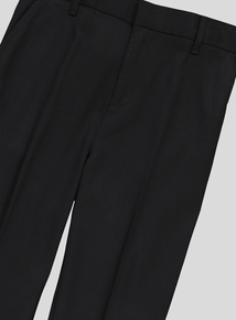 Black Easy Iron School Trouser With Stretch (10 - 16 Years)