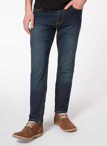 Mid Denim Wash Slim Jeans