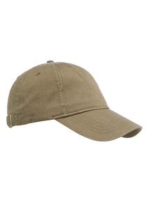 Khaki Washed Baseball Cap