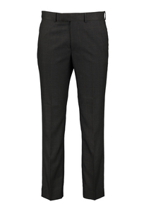 Charcoal Check Tailored Fit Suit Trousers